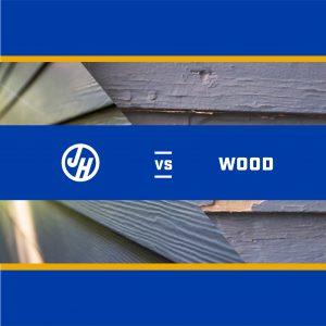 James Hardie vs. Wood