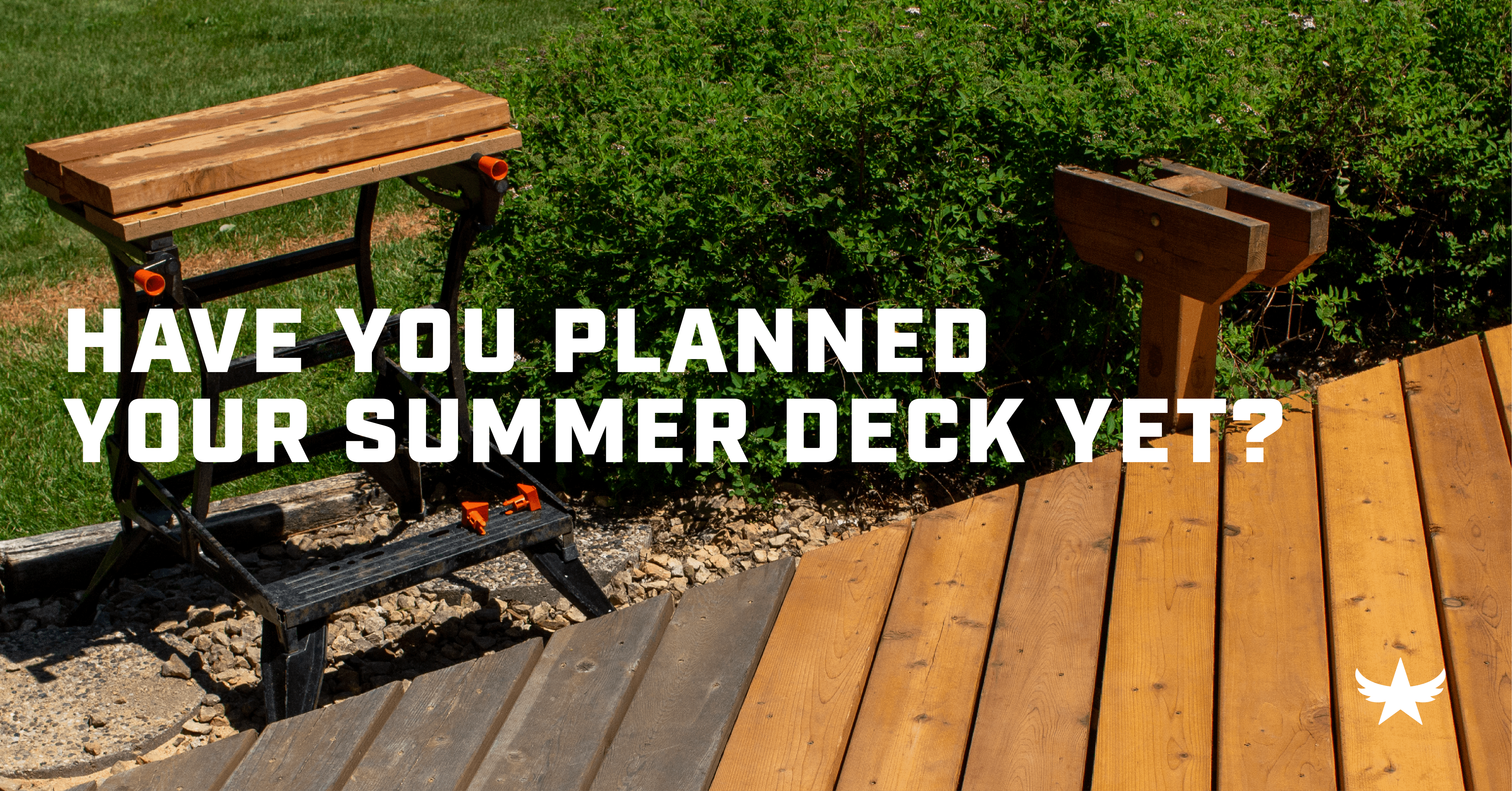 Have you planned your summer deck yet?