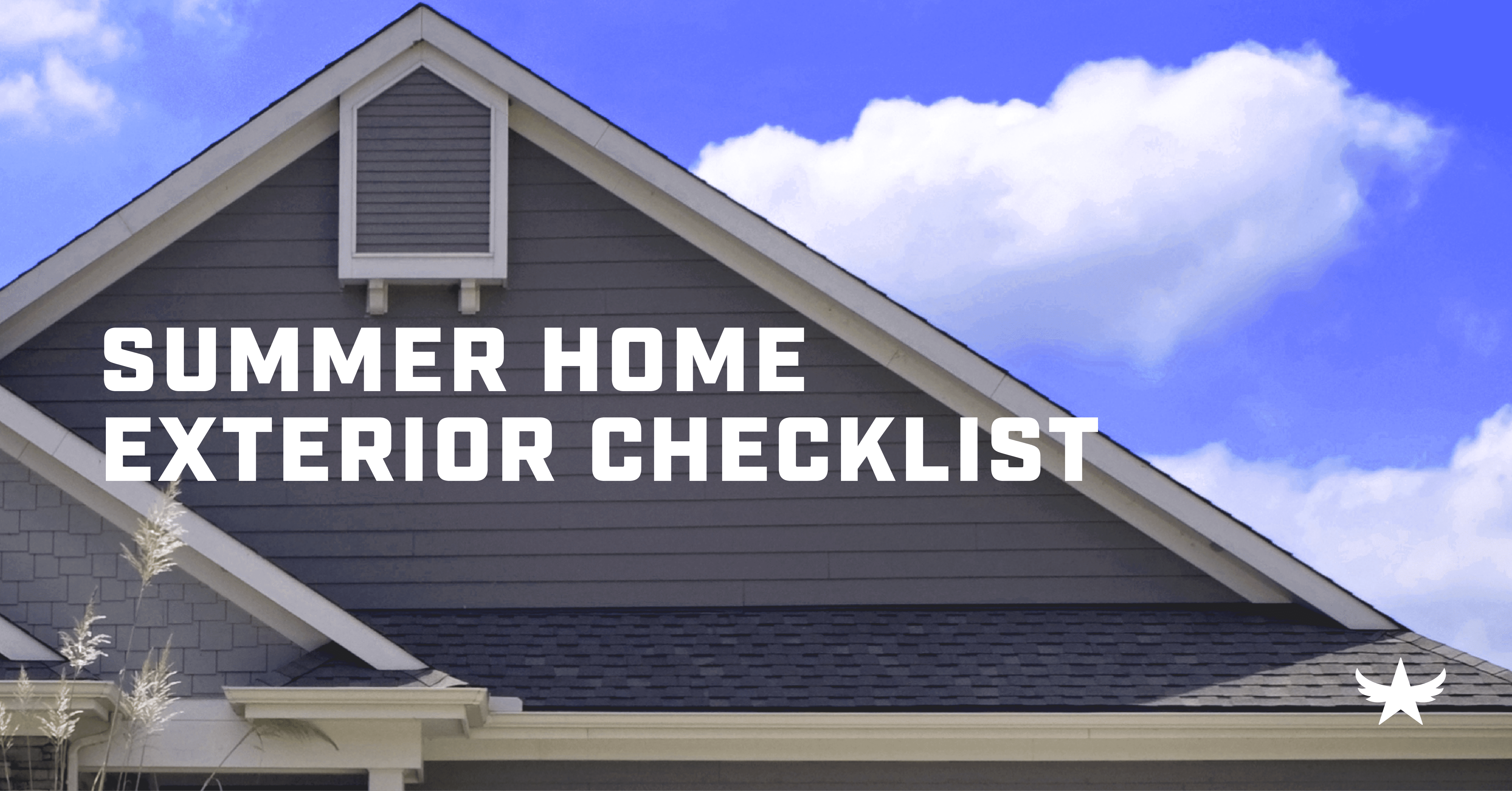 Summer Home Exterior Checklist