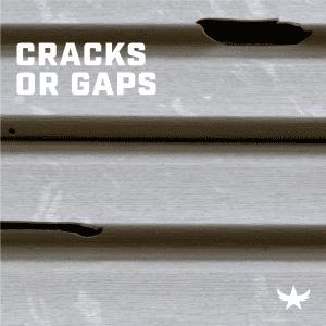 Cracks or Gaps