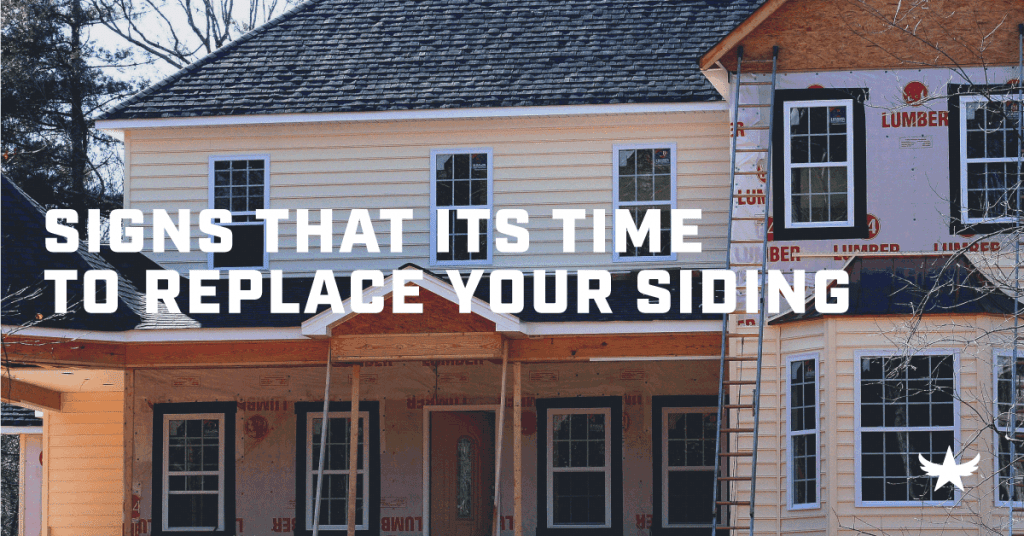 Signs That it's Time to Replace Your Siding