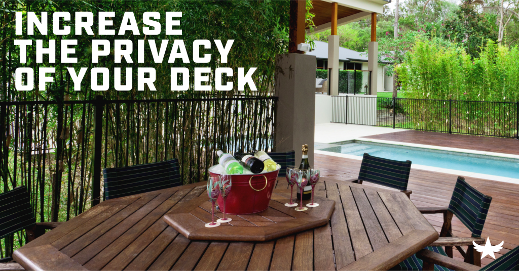 Increase the Privacy of your Deck